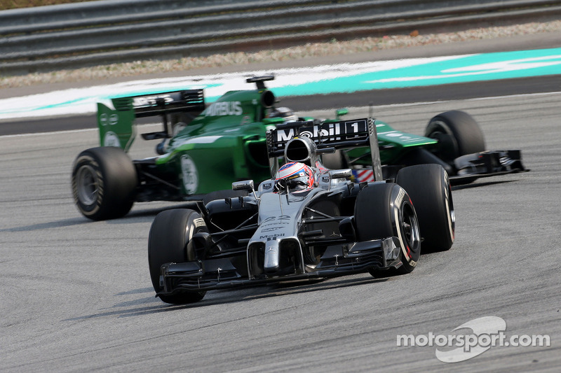 Jenson Button (GBR), McLaren F1 Team 30