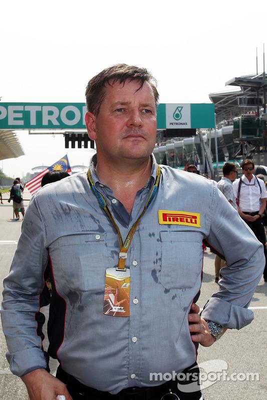 Paul Hembery,  Diretor de Motorsport da Pirelli