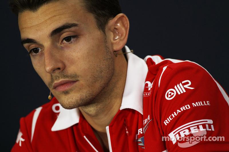 Jules Bianchi, Marussia F1 Takımı FIA Basın Konferansı'nda