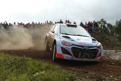 Daniel Sordo and Marc Marti, Hyundai i20 WRC, Hyundai Motorsport