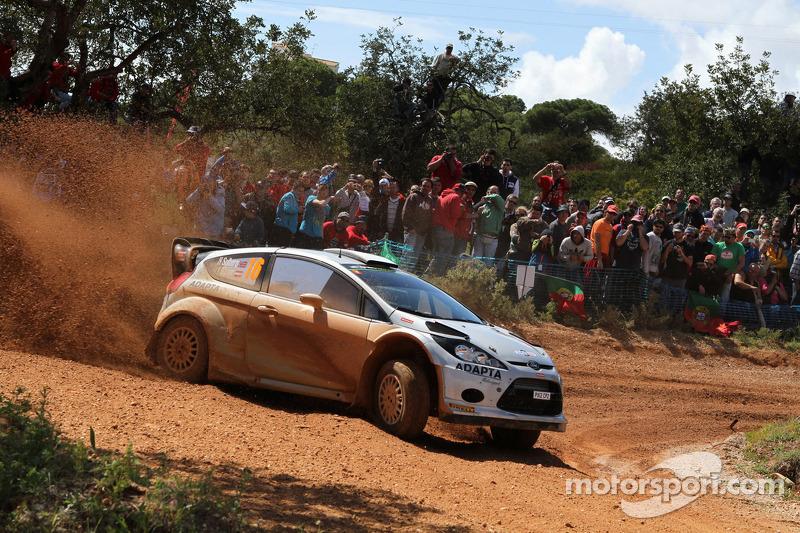 Henning Solberg ve Ilka Minor, Ford Fiesta WRC