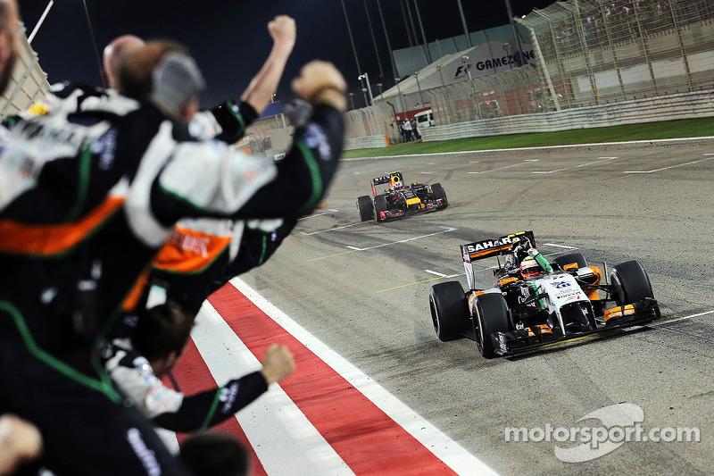 Cuarto podio, GP de Bahrein 2014
