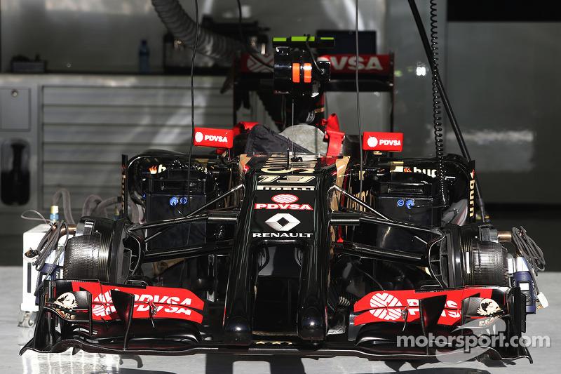 Auto von Pastor Maldonado, Lotus F1 E22