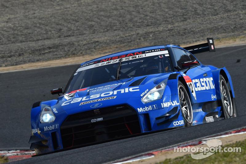 #12 Team Impul 日产 GT-R: 安田裕信, 若·保罗·德·奥利维拉