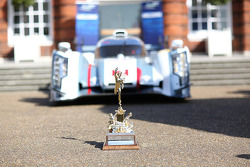 The Tourist Trophy in front of the Audi R18 e-tron quattro