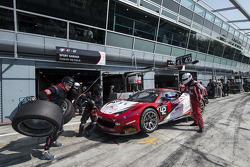 #42 Sport Garage法拉利 458 Italia: 迈克尔·阿尔伯特, Stéphane Lemeret, 吉尔斯·瓦纳莱