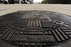 Shanghai Circuit manhole cover