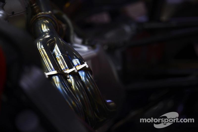 Ferrari F14-T egzoz detayı
