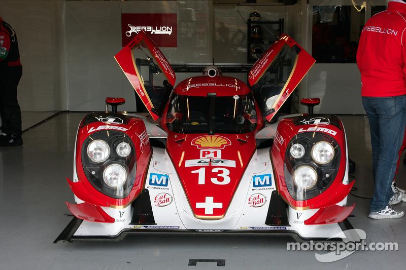 #13 Rebellion Racing Lola B12/60 - Toyota: Dominik Kraihamer, Andrea Belicchi, Fabio Leimer