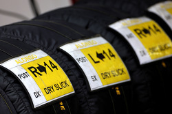 Fernando Alonso, Scuderia Ferrari, Pirelli tyres