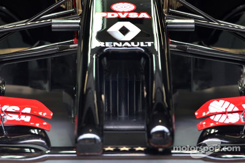 Nase: Lotus F1 E22