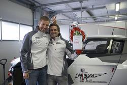 Feliz páscoa do Niki Mayr-Melnhof, Markus Winkelhock