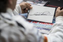 Alex Zanardi autograph