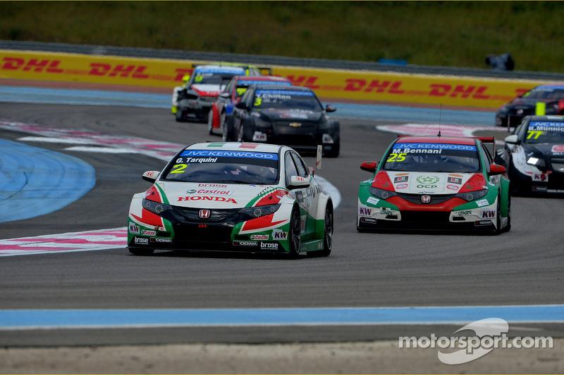 Gabriele Tarquini, Honda Civic WTCC, Castrol Honda WTCC Takımı ve Mehdi Bennani, Honda Civic WTCC, P