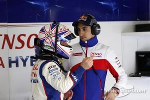Anthony Davidson and Sebastien Buemi