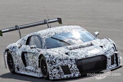 Monza Audi privétest, april