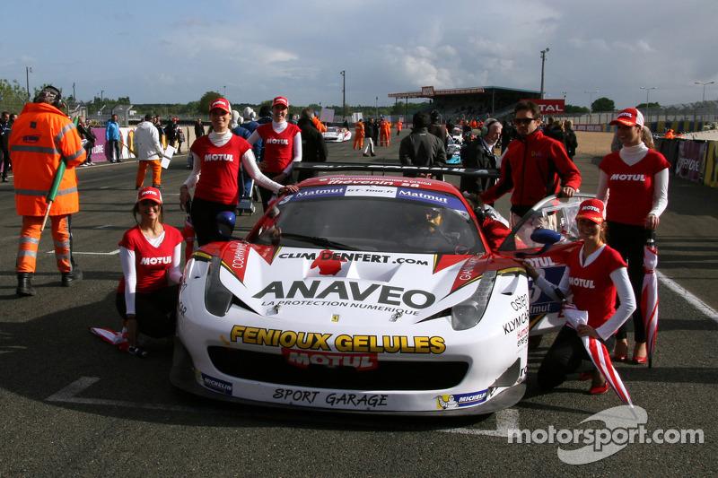 #3 Sport Garage 法拉利 458 Italia: Stéphane Lémeret, 阿尔诺·桑塔马托