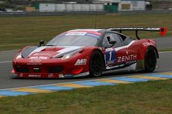 #1 Sofrev ASP Ferrari 458 İtalya Takımı: Philippe Giauque, Morgan Moullin-Traffort
