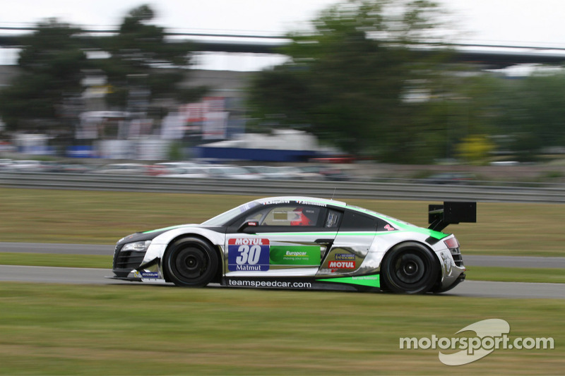 #30 Team Speed Car 奥迪 R8 LMS Ultra: Pascal Destembert, Rémy Deguffroy