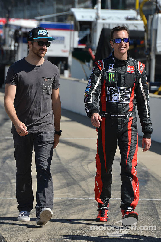 Kurt Busch, Andretti Autosport Honda e James Hinchcliffe