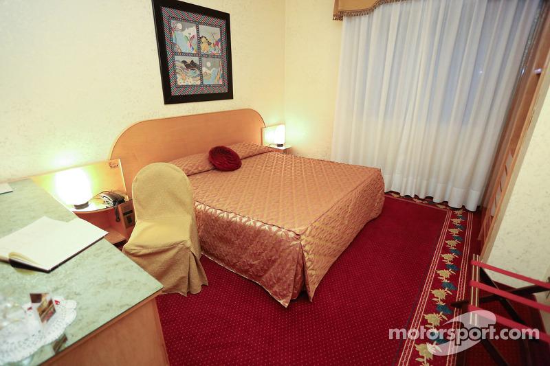 Hotel Castello Suite 200, dove ha alloggiato l'ultima notte Ayrton Senna