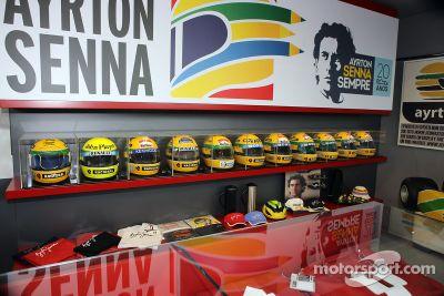 Tributo en Imola para Ayrton Senna