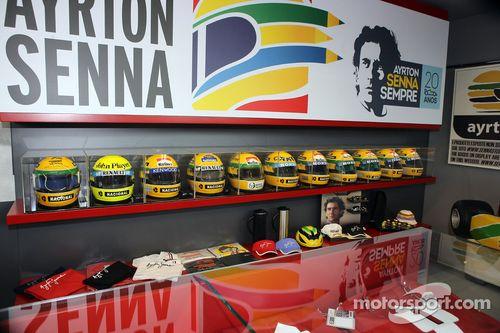 Imola Ayrton Senna tribute