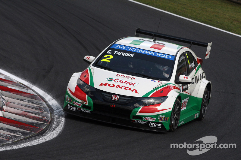 Gabriele Tarquini, Honda Civic WTCC, Castrol Honda WTCC team