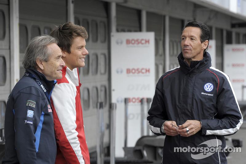 Jacky Ickx, Audi Sport Team Abt, Audi RS 5 DTM e Manuel Reuter (GER)