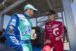 Ricky Stenhouse Jr. and Kyle Larson