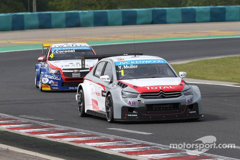 Yvan Muller, Citroën C-Elysée WTCC, Citroën Total WTCC e Tom Coronel, Cevrolet RML Cruze TC1, Roal Motorsport