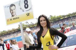 Gridgirl of Miguel Molina, Audi Sport Team Abt Audi RS 5 DTM