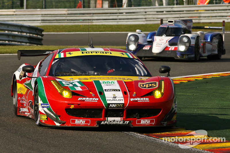 #51 AF Corse 法拉利 F458 Italia: 吉安玛利亚·布鲁尼, 托尼·维兰德