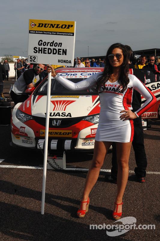 Ragazza Honda Yuasa Racing