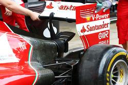 Ferrari F14-T rear wing detail