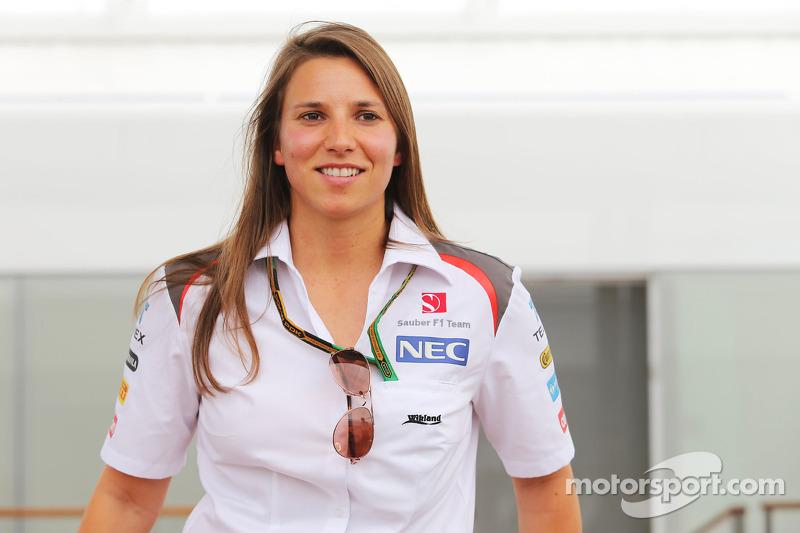 Simona de Silvestro, Sauber F1 Team piloto de pruebas