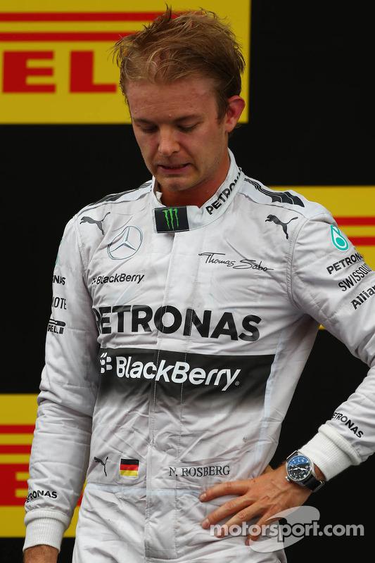 Pódio: segunda posição Nico Rosberg