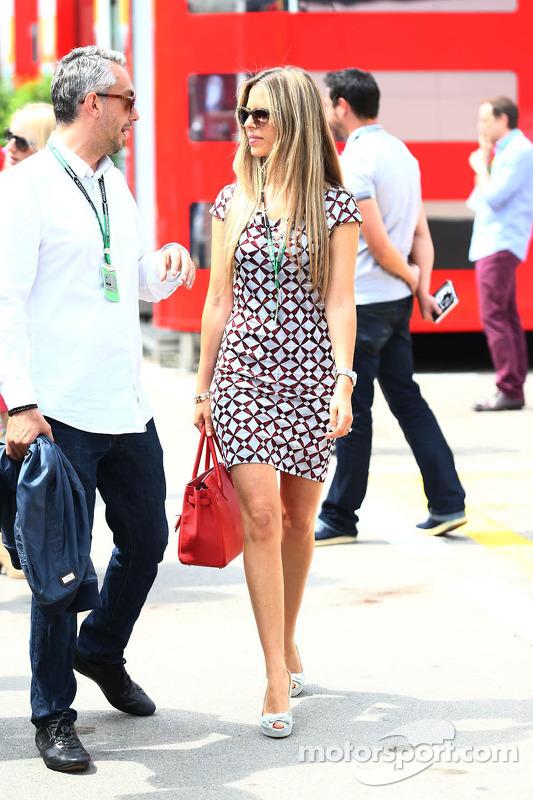 Vivian Sibold, fidanzata di Nico Rosberg, Mercedes AMG F1