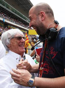 Bernie Ecclestone avec Gérard Lopez