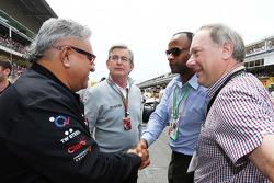Dr. Vijay Mallya, Sahara Force India F1 Takım Sahibi gridde