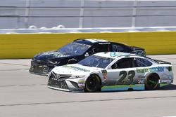 Gray Gaulding, BK Racing, Toyota Camry Earthwater and Ross Chastain, Premium Motorsports, Chevrolet Camaro TBA