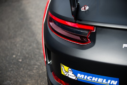 Dettaglio della Porsche 911 GT3 Cup del team AB Racing