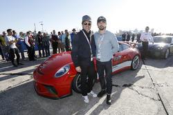 Patrick Dempsey and Milo Ventimiglia