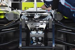 Williams FW41, dettaglio della sospensione anteriore