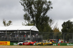 Will Davison, 23Red Racing Ford, leads Lee Holdsworth, Charlie Schwerkolt Racing Holden