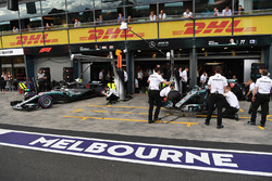 Lewis Hamilton, Mercedes-AMG F1 W09 et Valtteri Bottas, Mercedes-AMG F1 W09 EQ Power+