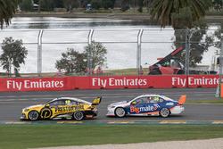 Lee Holdsworth, Charlie Schwerkolt Racing Holden, Todd Hazelwood, Matt Stone Racing Ford