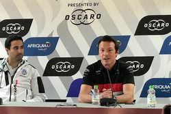 Press Conference, Mehdi Bennani, Sébastien Loeb Racing Volkswagen Golf GTI TCR, Jean-Karl Vernay, Audi Sport Leopard Lukoil Team Audi RS 3 LMSic Type R TCR