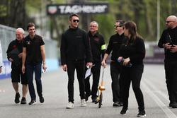 Andre Lotterer, Techeetah, on a track walk