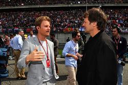 Nico Rosberg, Mercedes-Benz Ambassador on the grid with Michael Schmidt, Journalist